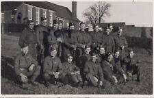 WW2 soldier Group Mostly Notts & Derby Regiment inc Home Guard
