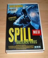 VHS - Spill - Tödlicher Virus - Brian Bosworth - Videofilm - Videokassette