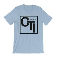 CTI Records T Shirt - Record Label Jazz Wes Montgomery Herb Alpert George Benson