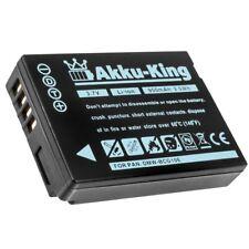 Akku-King Akku ersetzt Panasonic DMW-BCG10E für Lumix DMC-TZ10 TZ8 battery pack