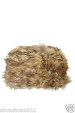 805e16843f0 Topshop Brown black Multi Colour Ski Russian Faux Fur Cossack Winter Beanie  Hat