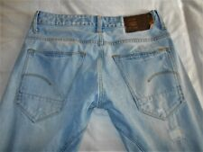 """G-STAR RAW jeans ARC 3D SLIM-effet vieilli Bleu clair-taille W32""""/L36"""""""