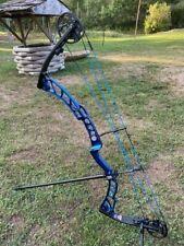 Elite Archery 2015 Victory 39 Compound Bow, 60 Lb. max, right hand, blue