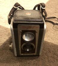 Vintage Kodak Duaflex Box Camera and Strap