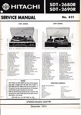 Service Manual-Anleitung für Hitachi SDT-2680