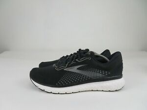 Brooks Glycerin 18 Running Walking Athletic Shoes Black White Mens Size 14 D
