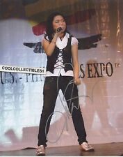 CHARICE PEMPENGCO 'GLEE' HAND SIGNED 8X10 COLOR PHOTO
