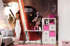 312x219cm 123x86inch Papier peint photo mural La Guerre Des Etoiles caractères