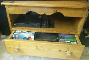 Pine TV Stand, Old Creamery - COLLECTION ONLY - Herefordshire