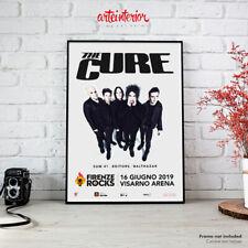 The Cure | Poster Firenze Rocks 16 Giugno 2019 Fine Art Manifesto Locandina