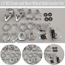 Metal Front Rear Wheel Hub Adapter & Bearing Kit Set For 1/5 HPI BAJA 5B 5T 5SC