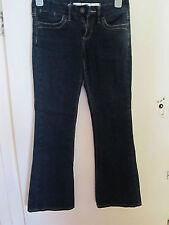 Dark Blue Bootcut Moto TopShop Stretch Eva Jeans - W28 L32 - Size 10
