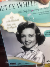 4 DVD Set BETTY WHITE Life with Elizabeth and Date with Angels 29 Episodes NEW