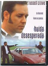 HUIDA DESESPERADA - HEAVEN'S BURNING - LAHIFF - RUSSELL CROWE- SPAGNOLO - DVD