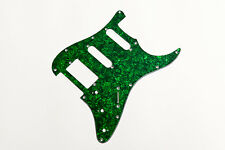 Stratocaster Pickguard HSS Green Pearl 3Ply - Golpeador Strat HSS verde perlado