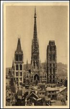 Rouen France Frankreich CPA ~1910/20 vue générale sur la cathédrale Kathedrale