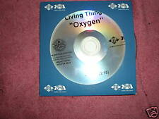 Living Things - Oxygen - one track CD single