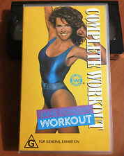 JANE FONDA'S WORKOUT - COMPLETE WORKOUT - VHS