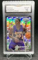 2014-15 Panini Prizm JULIUS RANDLE Rookie Silver SP Draft Variation GMA 10 PSA?