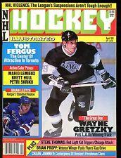 NHL Hockey Illustrated Magazine April 1989 Wayne Gretzky EX No ML 012717jhe