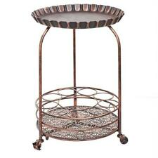 Old Dutch International 615BC Pop Wine and Serving Cart Antique Copper - 17 x...