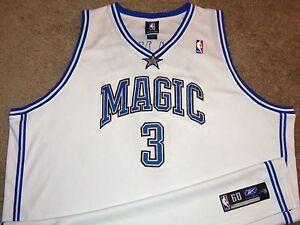 VTG AUTHENTIC STEVE FRANCIS ORLANDO MAGIC NBA REEBOK JERSEY 60 SEWN!