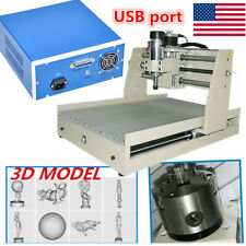USB port 4axis 400w 3040 CNC Router engraver engraving milling machine Mach3