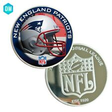 NEW ENGLAND PATRIOTS US Coin Creative 999 Silver Plated Sport Team Souvenir Coin