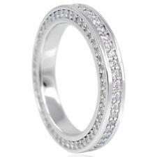 Ringe mit Zirkon-Sets (7 mm) Ø 56 Edelsteinen aus Sterlingsilber