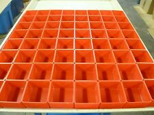 "64 3""x3""x2"" Plastic boxes fit Lista Stanley Waterloo toolbox organizer"