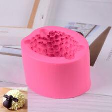 3D Xmas Cute Sheep Fondant Silicone Sugarcraft Cake Chocolate Soap DIY Mold HF