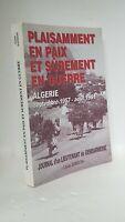 GUERRE D'ALGERIE - JOURNAL D'UN LIEUTENANT DE GENDARMERIE - LOUIS SANSON
