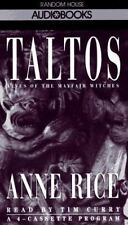 Taltos Lives Of The Mayfair Witches by Anne Rice 1994 Abridged 4 cassettes