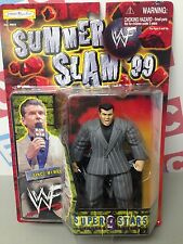 WWE WWF Wrestling Jakks Bone Crunching BCA Superstars Series 9 Vince McMahon
