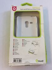 Muvit Soft Back Case for Samsung Galaxy S3 Mini - White