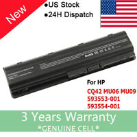 For HP 2000-425NR MU06 593553-001 G6 Notebook Laptop Battery / Adapter DV6 DV5 F