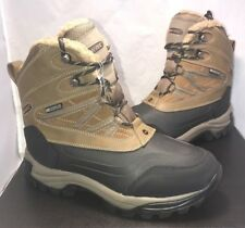 Hi Tec Mens Size 10 Snow Peak 200 Boots Waterproof Leather Suede Rubber $130