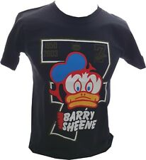 Barry Sheene Number 7 Retro Logo Design mens T-shirt Tee Black