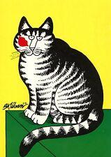 POSTCARD CARTE POSTALE ILLUSTRATEUR B. KLIBAN / EDITION CARTECHATS / CAT / CHAT