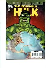 THE INCREDIBLE HULK #106 FIRST PRINT VF (WORLD WAR HULK TIE IN)