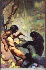 "Authentic Frank Frazetta ""Black Panther 11 X 16 #77"
