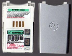 2 X GENUINE / ORIGINAL Motorola T190 T191 NiMH Battery Batteries SNN5623A