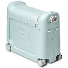 JetKids Bedbox Kids Child's Travel Rolling Ride-on Suitcase Bed Box Green Aurora