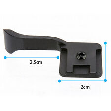 Black Thumb Up Grip for Sony Canon Fujifilm X10 X100 XE1 X-PRO1 FT