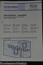 Telefunken Service HIFI-Tuner TT 350 hifi Schaltplan Schaltplan Ersatzteilliste
