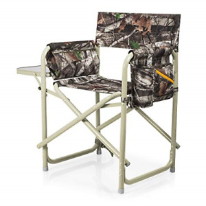 ONIVA - a Picnic Time brand Outdoor Directors Folding Chair Camouflage