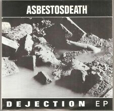 "ASBESTOSDEATH- Dejection 7"" 1990 Profane Existence Vinyl- NEW RARE OOP- Sleep Om"