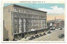 NIAGARA FALLS, NEW YORK  Temperance House, Automobiles
