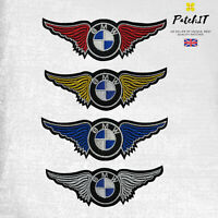 BMW Motor Car Brand Logo Patch to Iron/ Sew on, Embroidered Cloth Patches, Badge