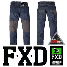 FXD WD-1 WD1 Workwear Denim Jeans Pants Trousers Dura500 Cone Indigo
